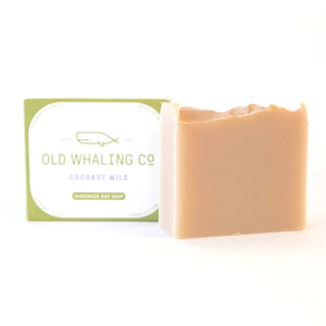 Coconut milk bar soap.