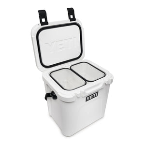 Yeti cooler with two basket