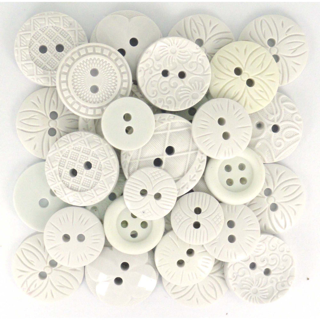 Color me white buttons.
