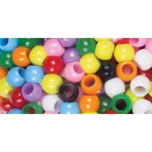 Assorted colorful beads