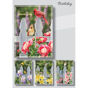 Backyard Beauties Birthday Cards