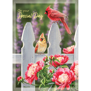 Backyard Beauties Birthday Card