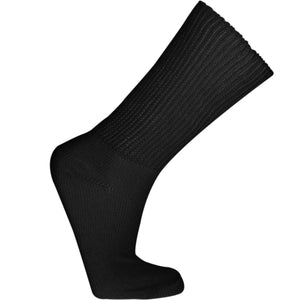 Black diabetic sock