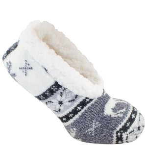 Black wintergreen slipper