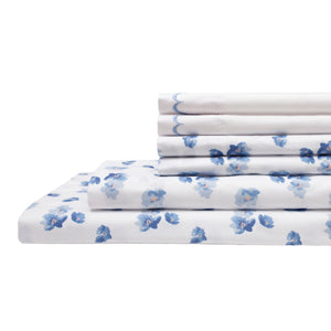 Spring Meadow Microfiber Sheet Sets Blue