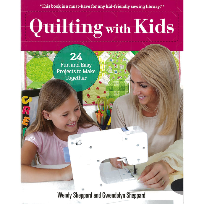 Quilting book for kids