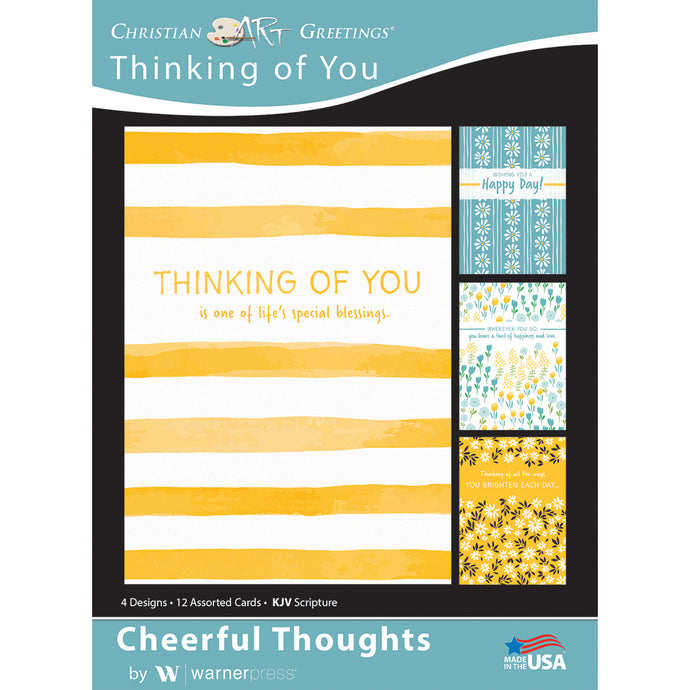 Cheerful Thoughts boxed greeting cards
