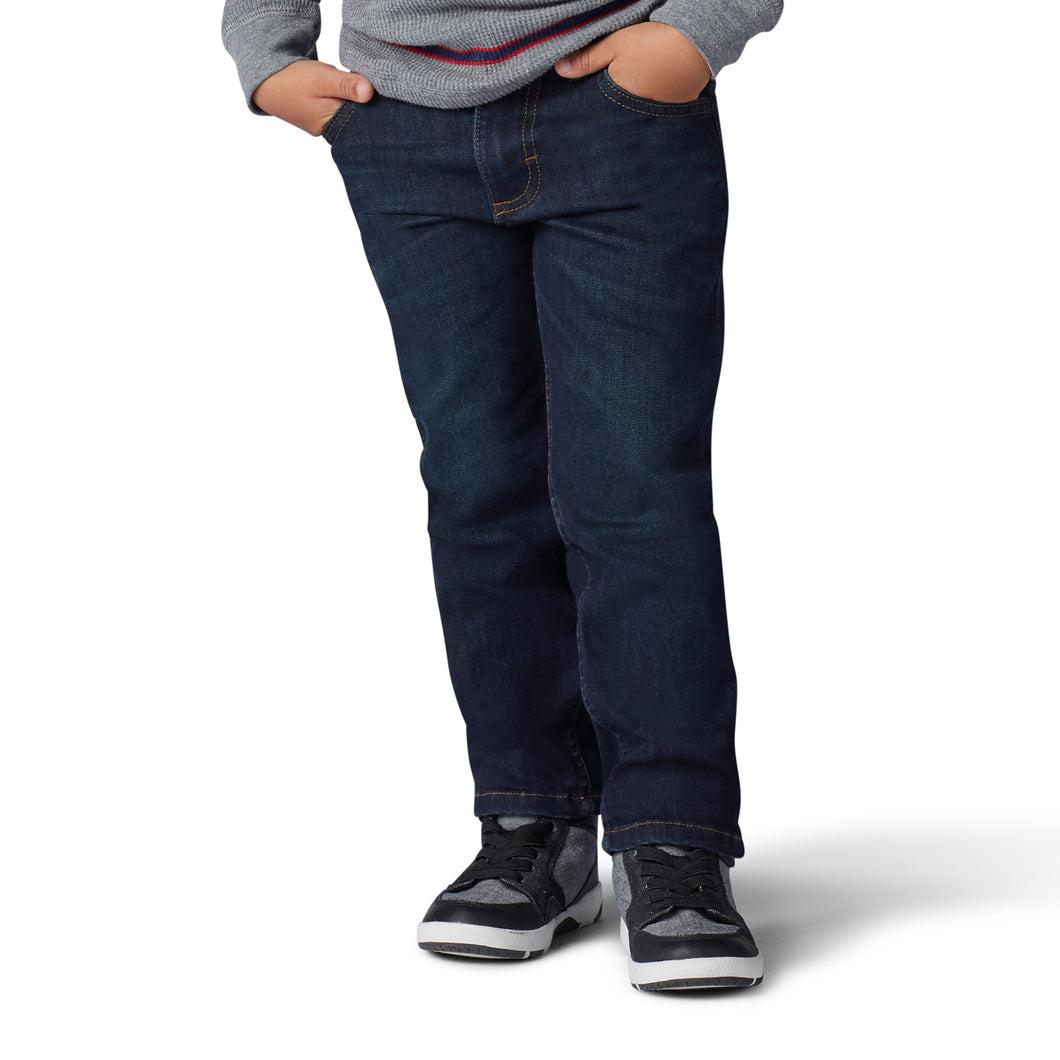 Boy wearing Lee jeans
