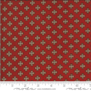 Brick red fabric