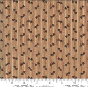 Brick cotton fabric