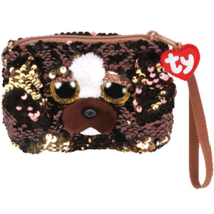 Brutus sequin dog purse