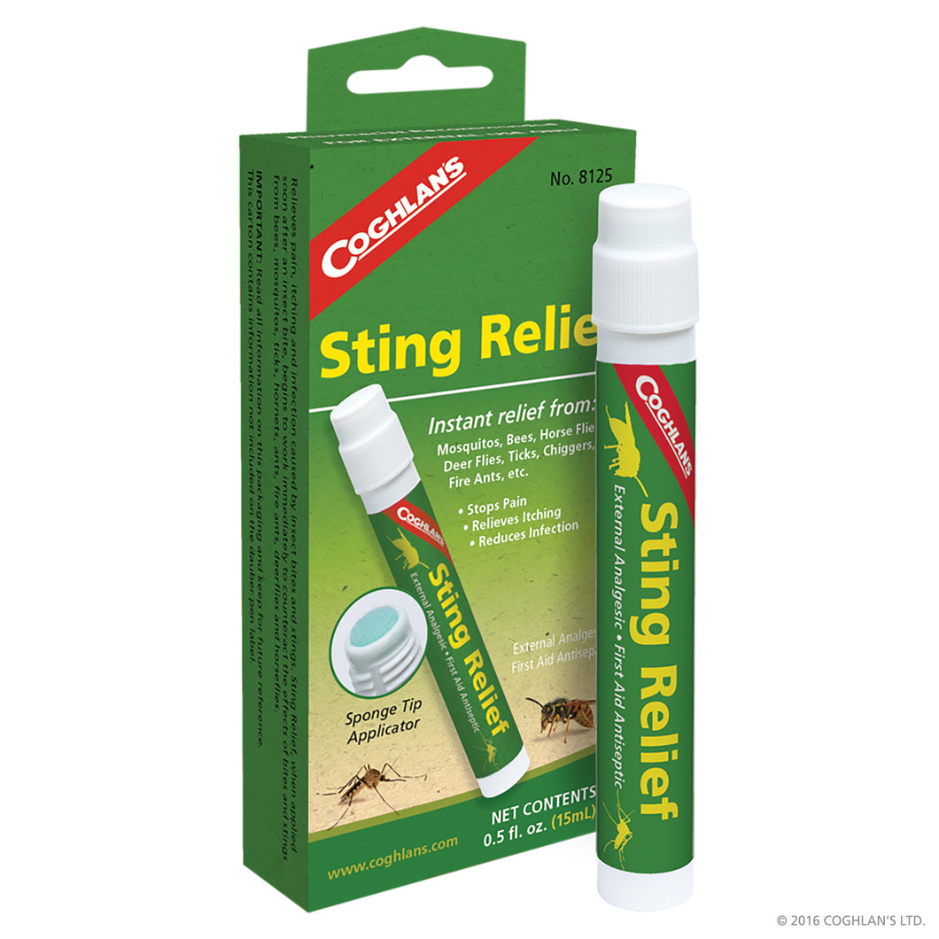 Sting Relief cream