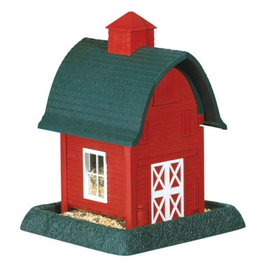 North States Red Barn Bird Feeder