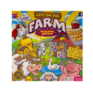Life on the Farm Board game preschool edition.