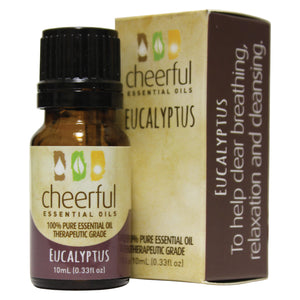Eucalyptus essential oil.