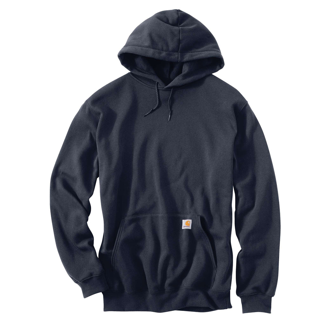 New Navy Carhartt pull-over hooded sweatshirt.