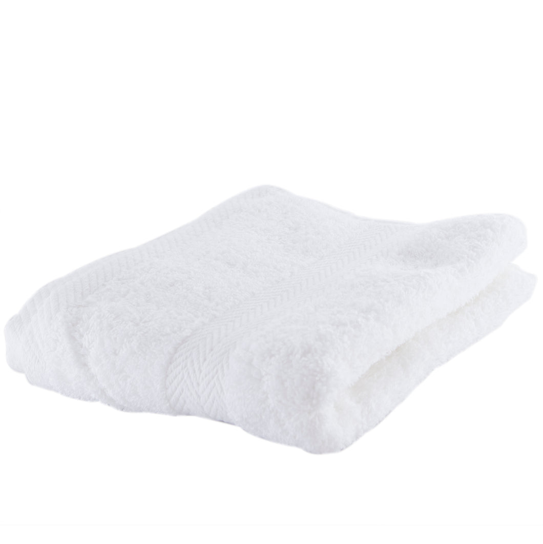 White hand towels.