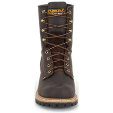 Carolina Elm Steel Toe Logger Boot toe view