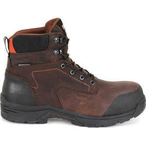 Carolina 6 inch mens lytning lightweight carbon comp toe work boots profile