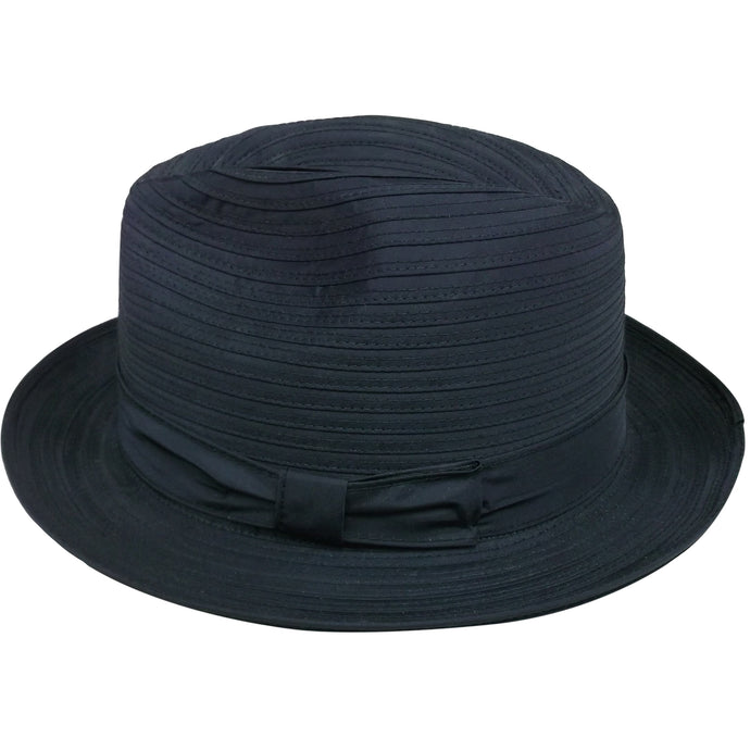 Men's Center Dent Black hat.