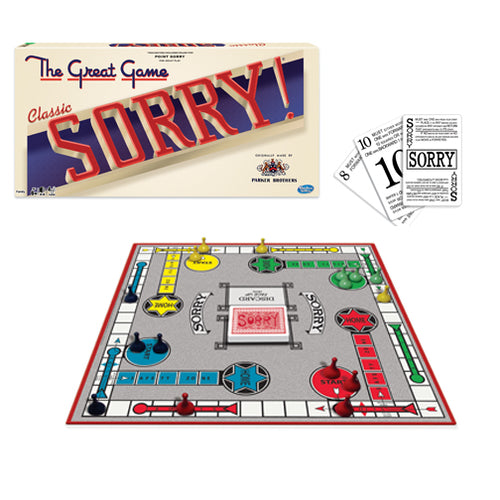 Hasbro Winning Moves Games Classic Game of Sorry 1171
