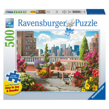 Ravensburger Puzzle Rooftop Garden.