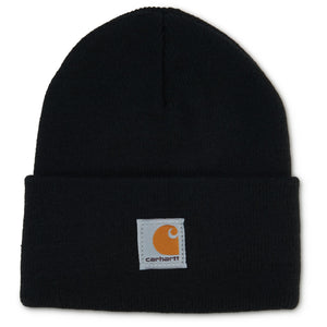 Black Carhart child's knit hat.