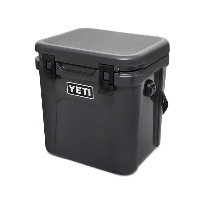 Charcoal Yeti Roadie cooler