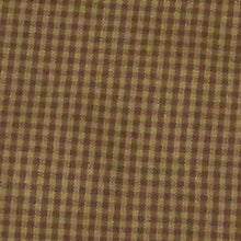 Check Brown fabric