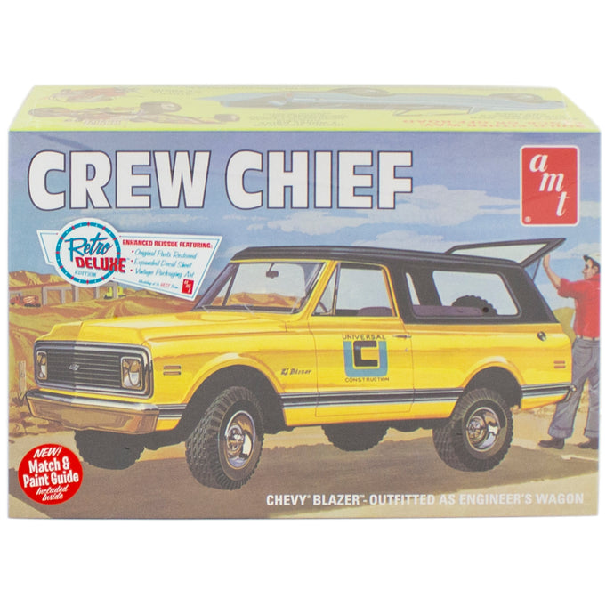 Crew Chief model car box