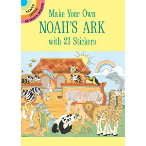 Dover Make Your Own Noah's Ark with 23 Stickers book