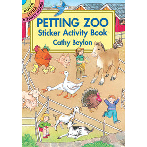 Dover Petting Zoo Sticker Activity Book