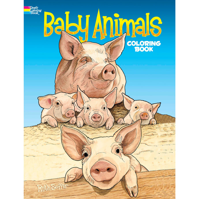 Dover Baby Animals Coloring Book