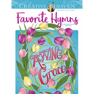 Dover Creative Haven Favorite Hymns Coloring Book