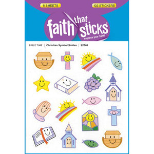 Christian symbol stickers