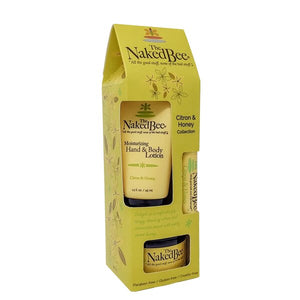 The Naked Bee Citron and Honey gift set