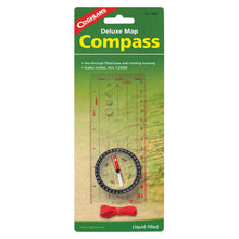 Compass with map reader