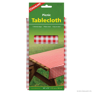 Picnic tablecloth.