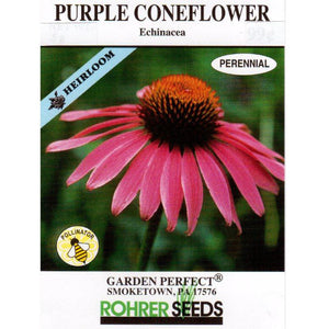 Coneflower seed packet