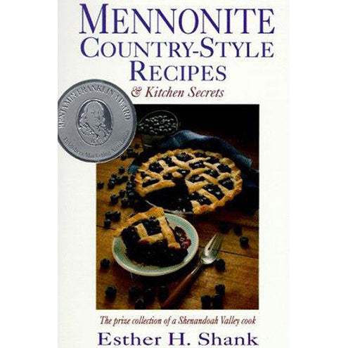 Mennonite Country Style cookbook