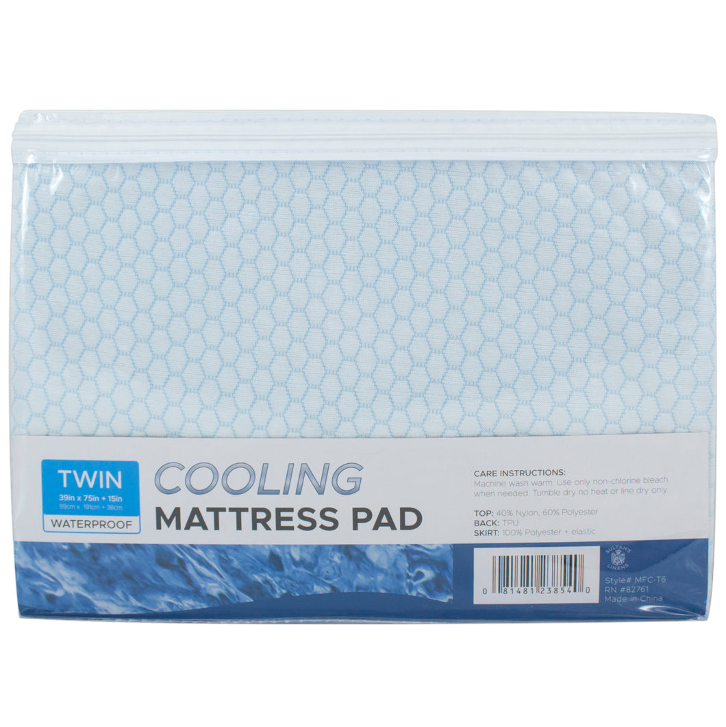 Sultan S Linens Cooling Mattress Pad Waterproof Cover Mfc Good S Store Online