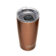 Copper YETI travel mug