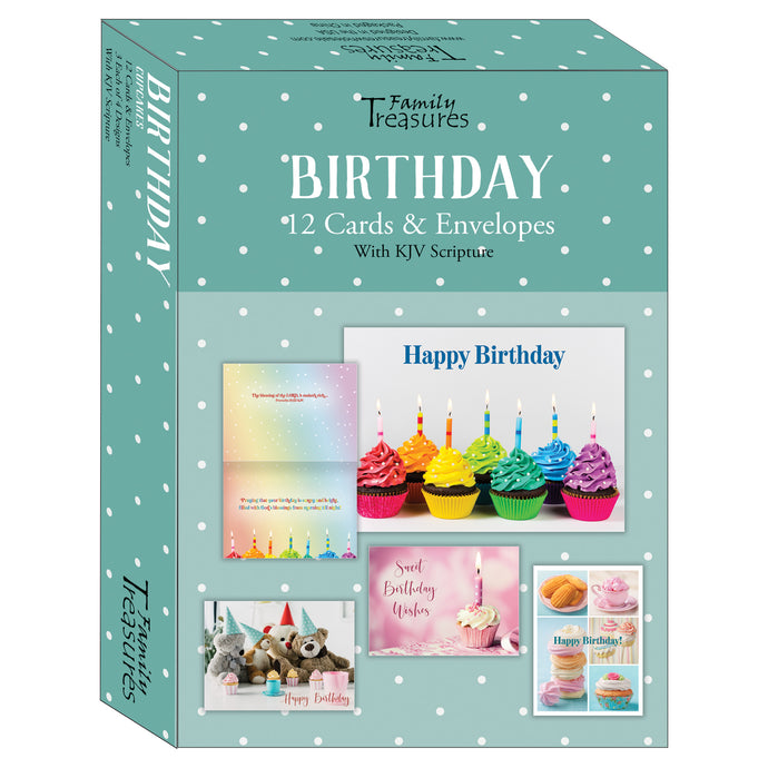 Cupcake Birthday cards for kids