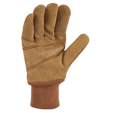 Palm Side Carhartt Men's Suede Knit Cuff Work Glove A551