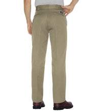Classic Dickies khaki pants, back.