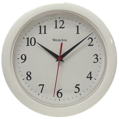 Westclox Ventura Wall Clock White