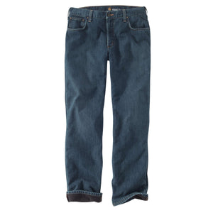 Carhartt Men Lined Jeans, front.