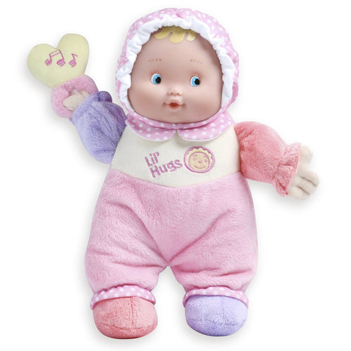 JC Toys Lil Hugs Soft Doll with Rattle 48000
