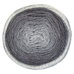 Diamands silver yarn