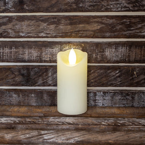 Ivory LED votive candle